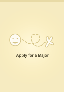 Apply for a major
