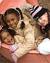 Students playing at CamdenForward School