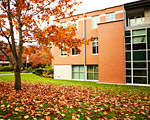 SPU Science Building during the Fall