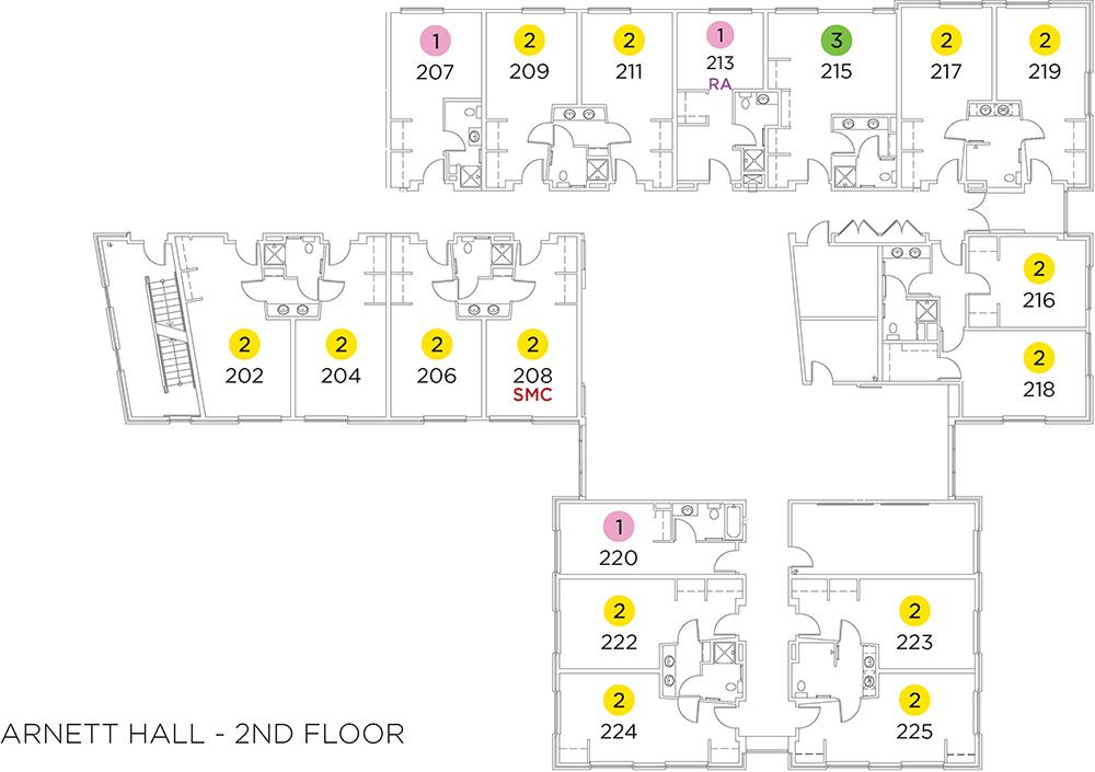 Arnett Hall Floor Plans Residence Life