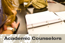 Meet Your Academic Counselor - click to view