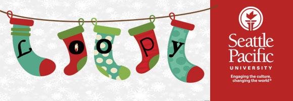 Loopy Christmas Header