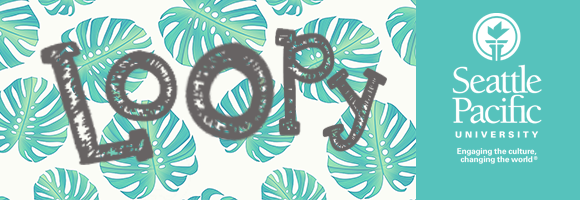 Loopy Tropical Header