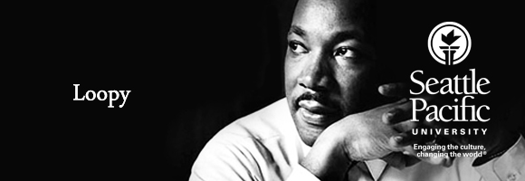 Loopy Martin Luther King, Jr. Header