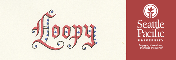 Loopy Gothic Calligraphy Header