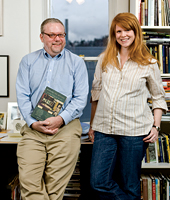 Gregory Wolfe and editor Mary Kenagy Mitchell