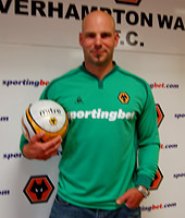 Marcus Hahnemann, 1993 alum and goalkeeper for the Wolverhampton Wanderers.