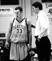 Ken Bone, SPU head men's basketball coach from 1990-2002.