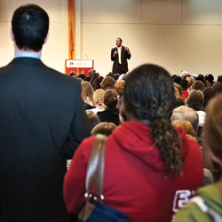 Ben Carson speaking at SPU
