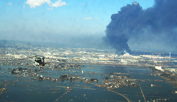 Japan, soon after the March 11, 2011, earthquake and tsunami.