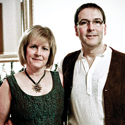 Carolyn Paris Rowe '78 and her husband, David Rowe