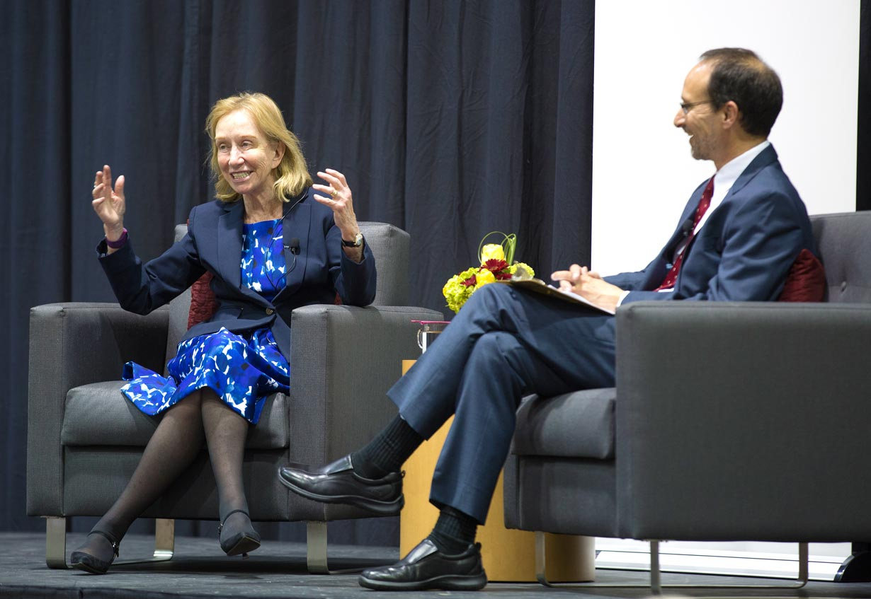 Historian Doris Kearns Goodwin and Dr. Micheal Hamilton
