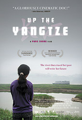 Movie poster for Up the Yangtze