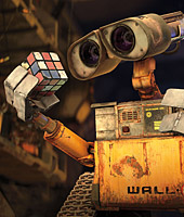 Wall-e explores the remainders of Earth
