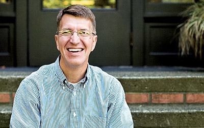Doug Strong, new dean of the SPU School of Theology
