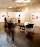 Newly renovated SPU Art Gallery