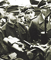 Jurgen Moltmann as a soldier during World War II