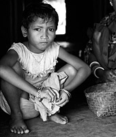 Child from India