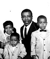 John Perkins and family
