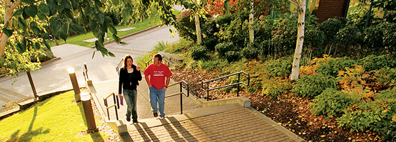 Individual tour through SPU campus