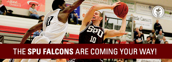 The SPU Falcons are coming your way!
