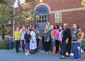Graduate students in counseling partner with Hawthorne Elementary School