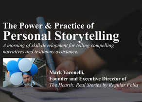 The Power and Practice of Personal Story Telling.