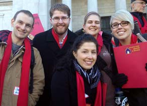Homelessness Advocacy Day group