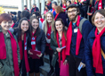 Students at Homeless Advocacy Day
