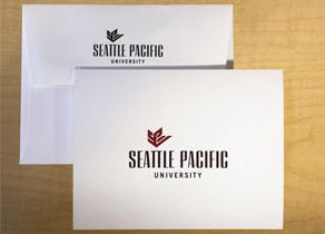 SPU notecards with SPU Logo