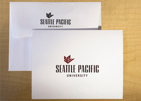 SPU notecards with SPU Logo