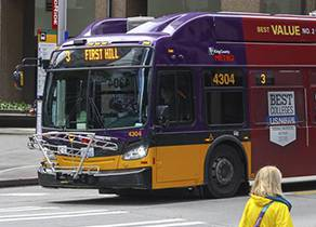 King County Metro bus