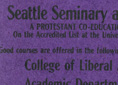 Seattle Seminary and College