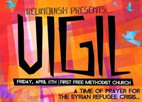 Relinquish prayer vigil
