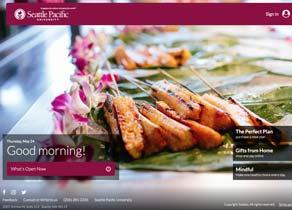 Campus Dining Webpage