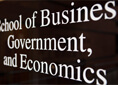 School of Business, Government, and Economics