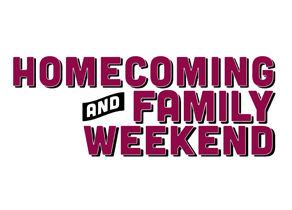 Home Coming and Family Weekend Logo