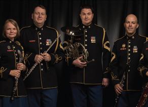 Members of U.S. Army Woodwind Quintet