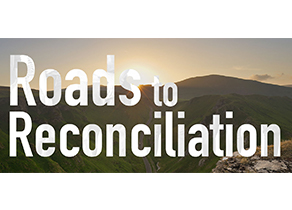Roads to Reconciliation event logo