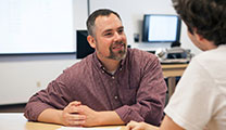 Assistant Professor of Philosophy Leland Saunders
