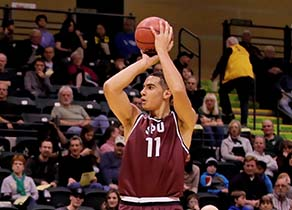 Tony Miller is GNAC Freshman of the Year