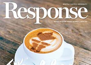 Cover of Response Magazine, from Spring 2016
