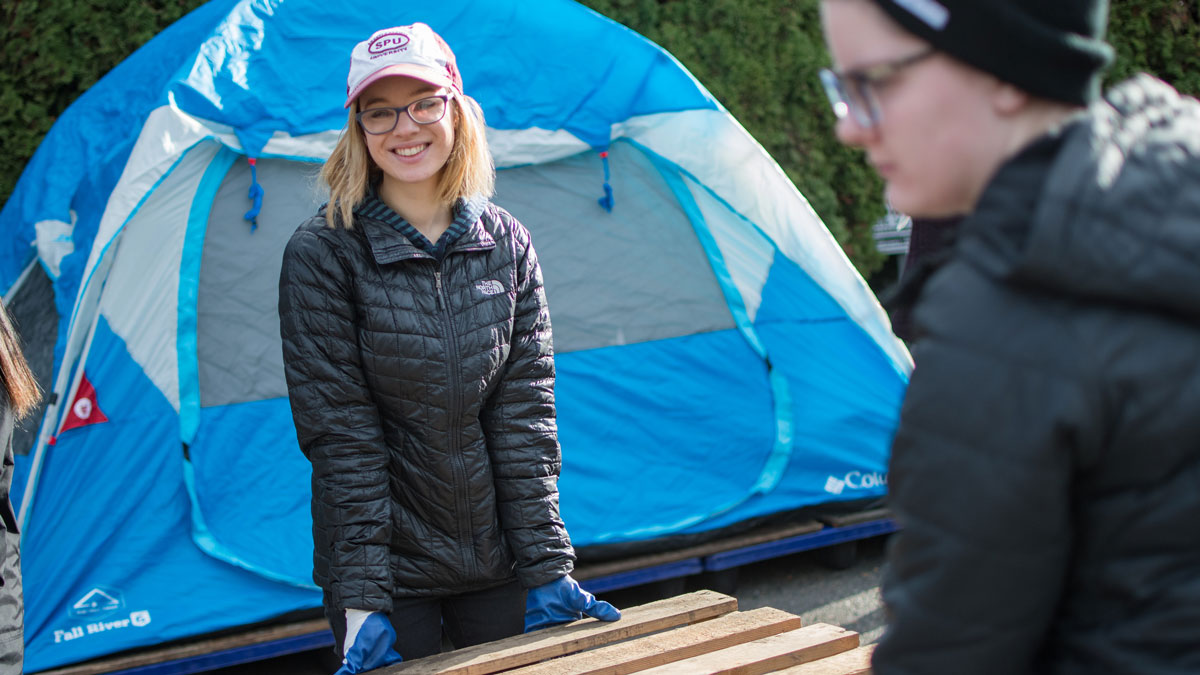 Engaging the City Tent City