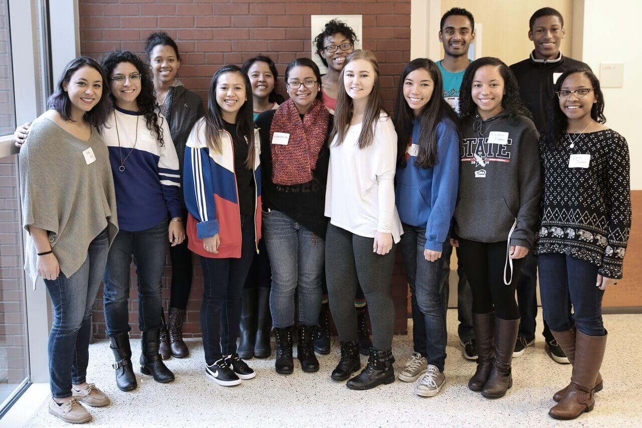 2015 BioCORE Scholars and Peer Mentors