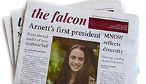 SPU Student Newspaper The Falcon