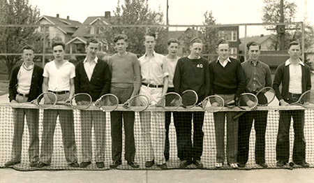 Men's Tennis Team 1937
