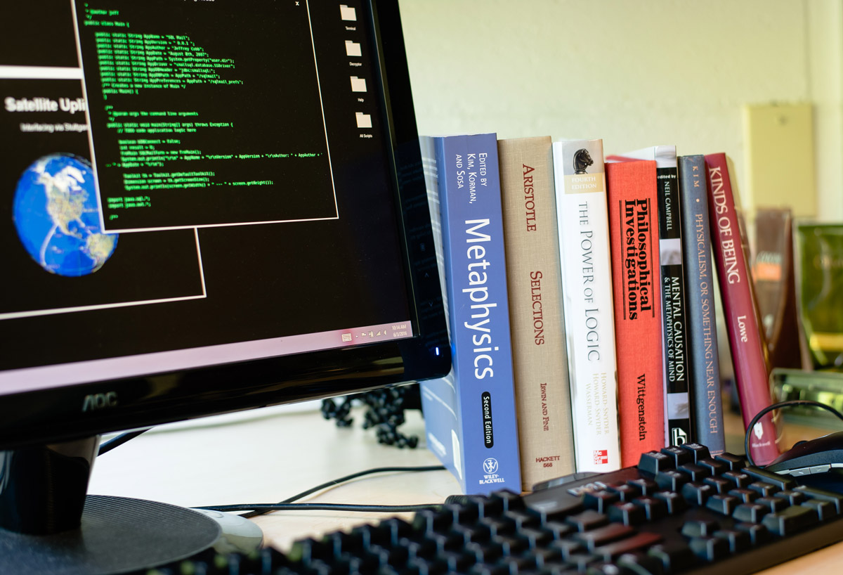 Computer and philosophy books