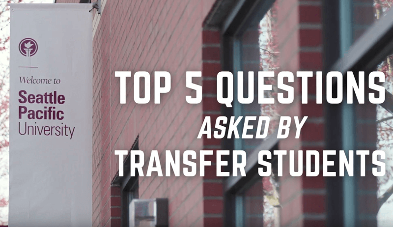 Top 5 Questions Asked by Transfer Students