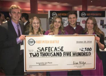 SafeCase team wins SVP Seattle Fast Pitch