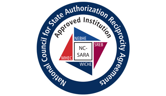 Institution Approved by the National Council for State Authorization Reciprocity Agreements